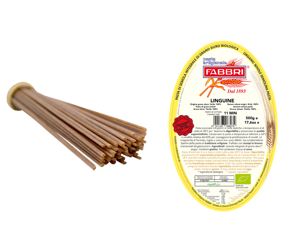 Linguine Bio 100% alter Timilia-Weizen