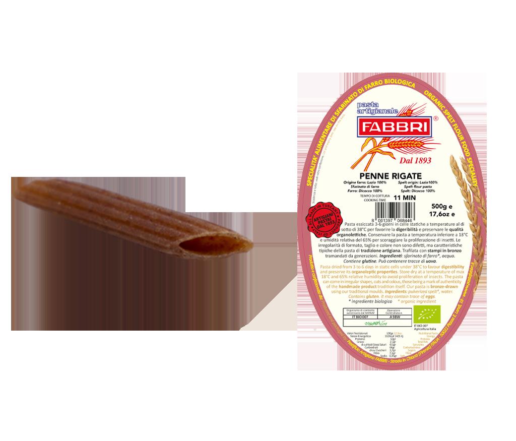 Penne Rigate Bio 100% Emmer