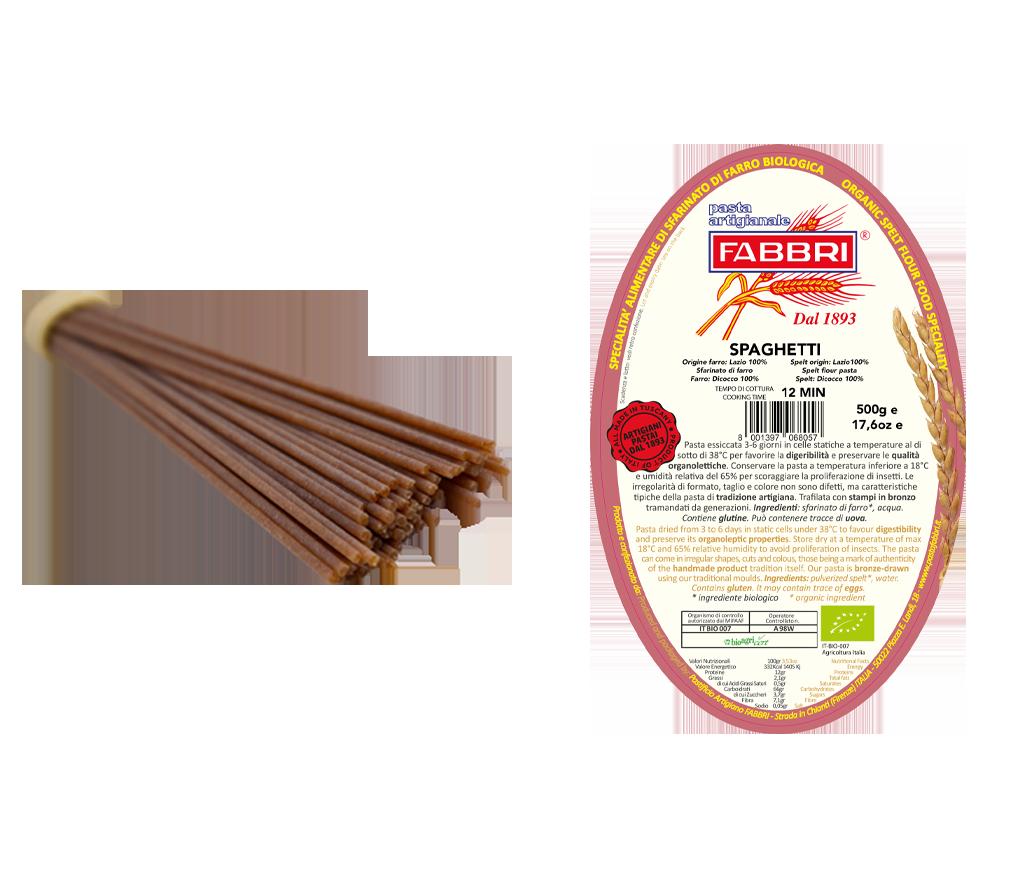 Spaghetti Bio 100% Emmer